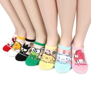 Choose one pair see through Sanrio character socks
